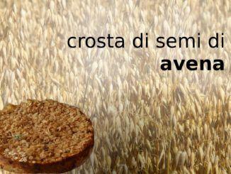 Crosta di semi di avena