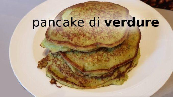 Pancake di verdure