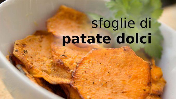 Sfoglie di patate dolci