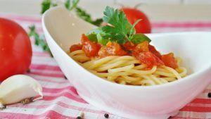 Spaghetti dieta mediterranea