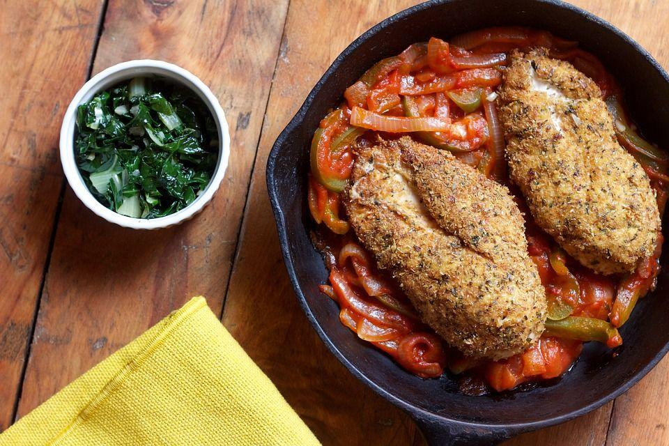 pollo pesto pomodori