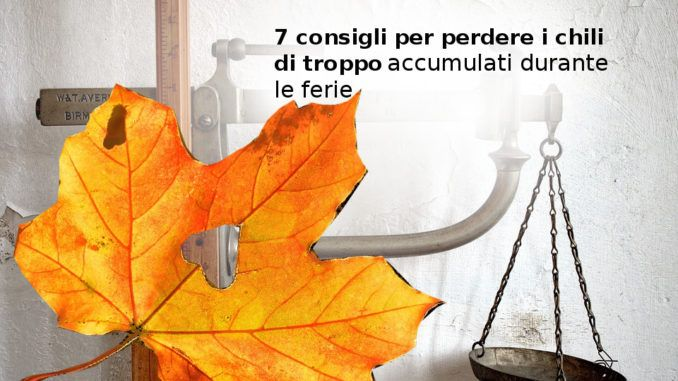 dimagrire autunno