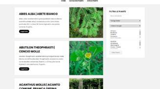 catalogo piante